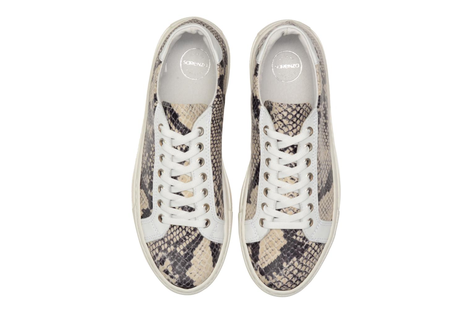 Sneakers Made by SARENZA Seven Tease #2 Beige modello indossato