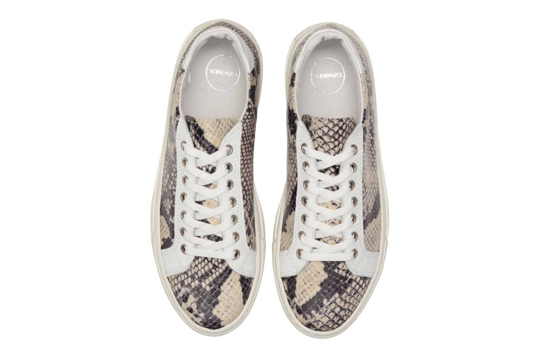 Sneaker Made by SARENZA Seven Tease #2 beige schuhe getragen