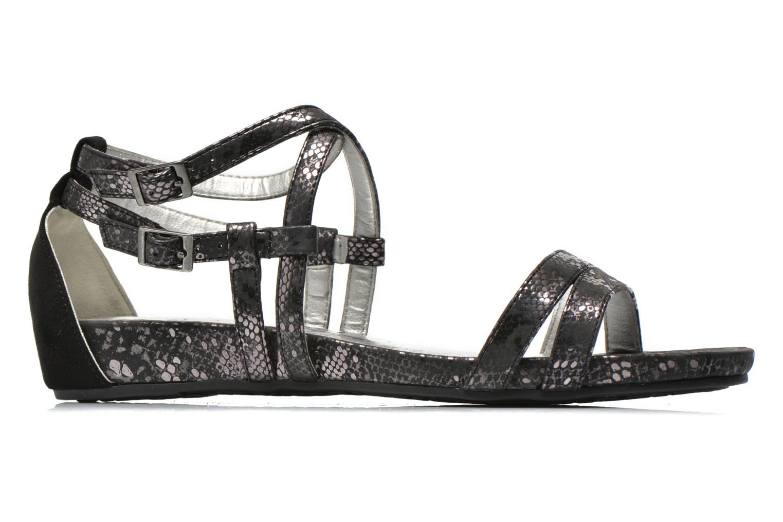 Sandales et nu-pieds Madison Emour Noir vue derrière
