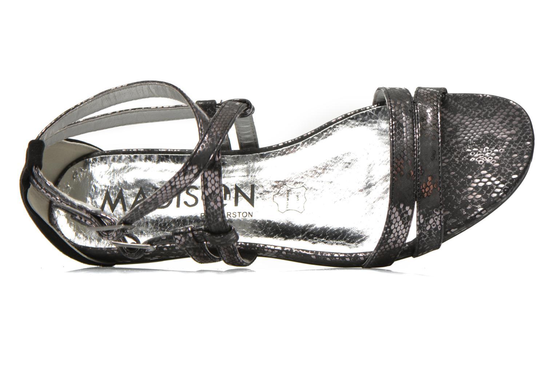 Sandales et nu-pieds Madison Emour Noir vue gauche