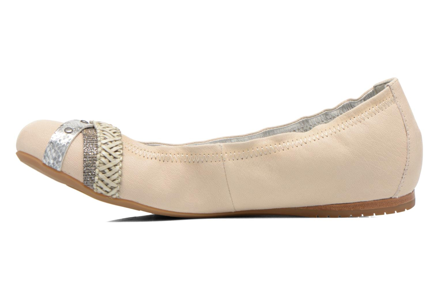 Ballerines Madison Clewou Beige vue face