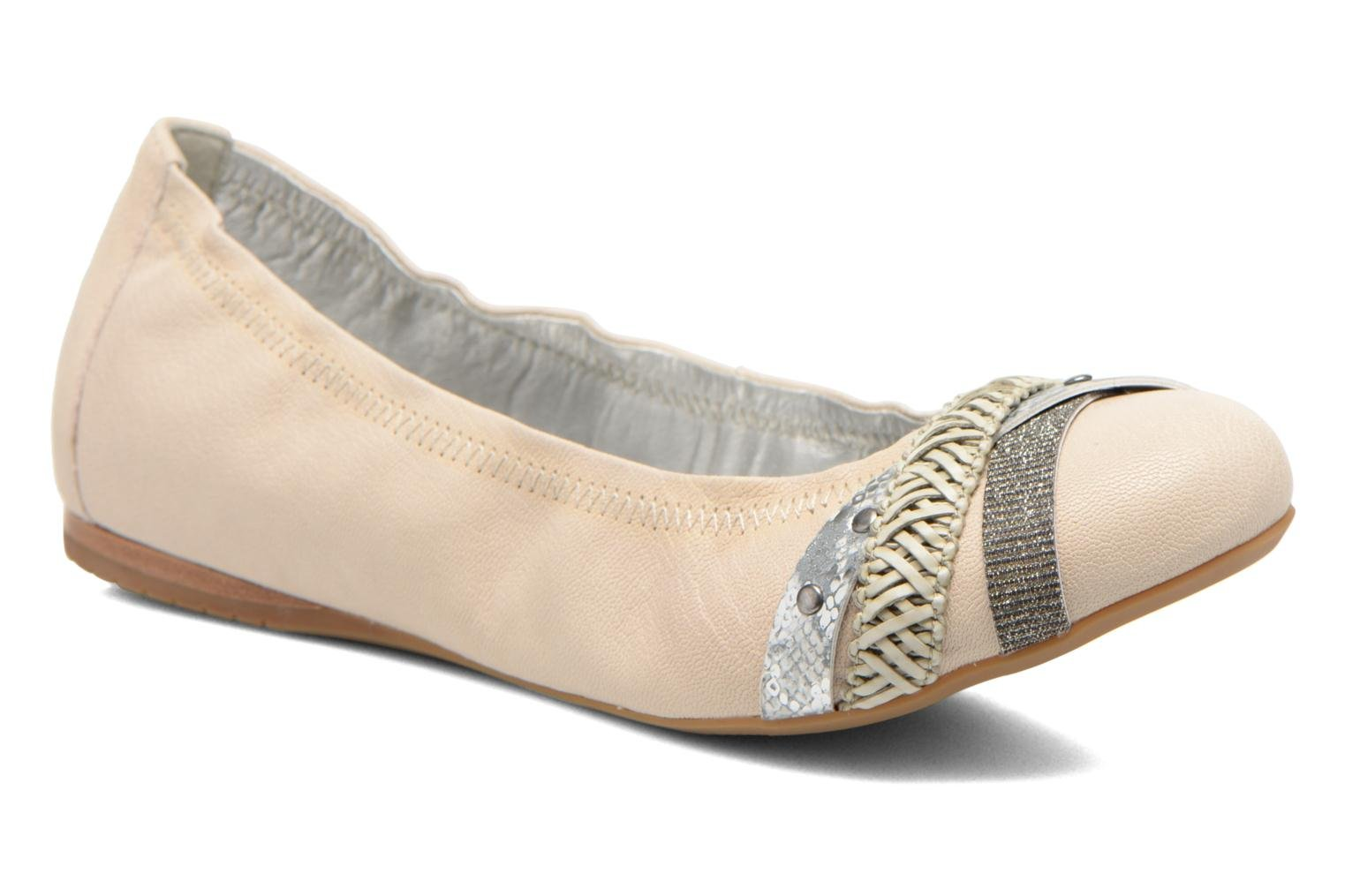 Ballerina's Madison Clewou Beige detail