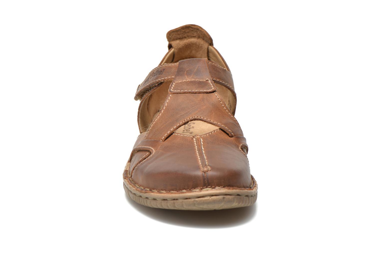 Sandales et nu-pieds Josef Seibel Francesca 09 Marron vue portées chaussures
