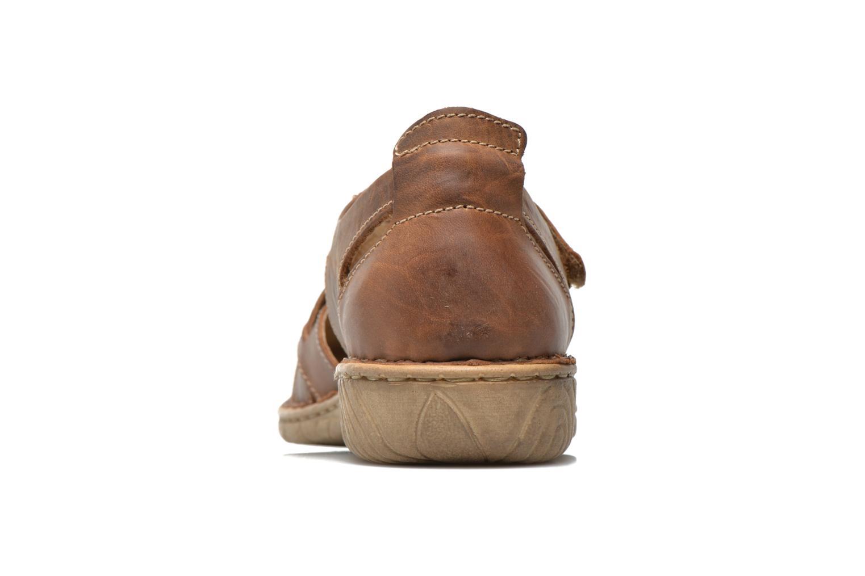 Sandales et nu-pieds Josef Seibel Francesca 09 Marron vue droite