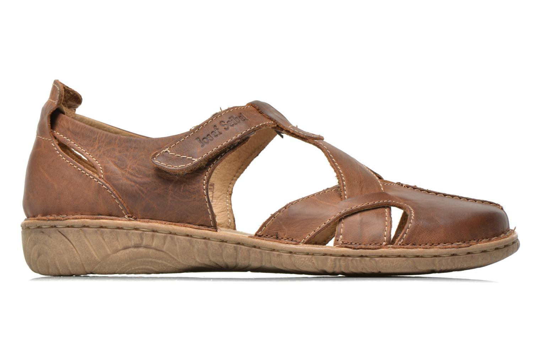 Sandales et nu-pieds Josef Seibel Francesca 09 Marron vue derrière