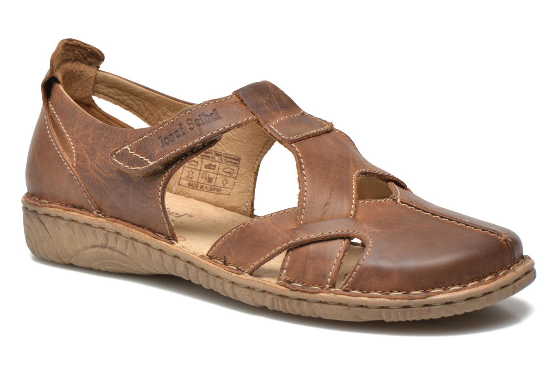 Sandales et nu-pieds Josef Seibel Francesca 09 Marron vue détail/paire