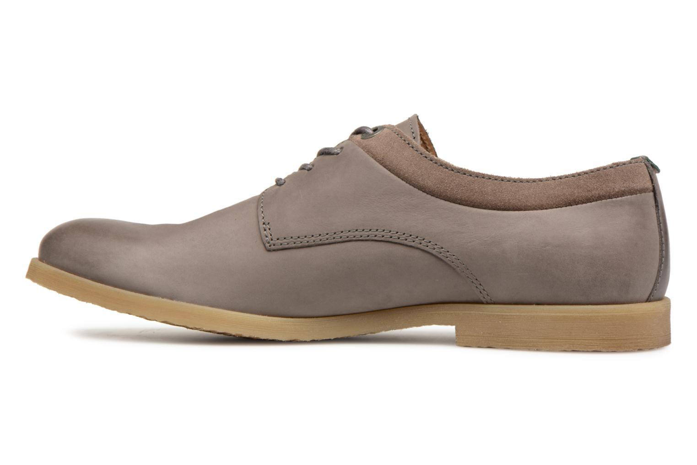 Chaussures à lacets Kickers FLAVESTON Gris vue face