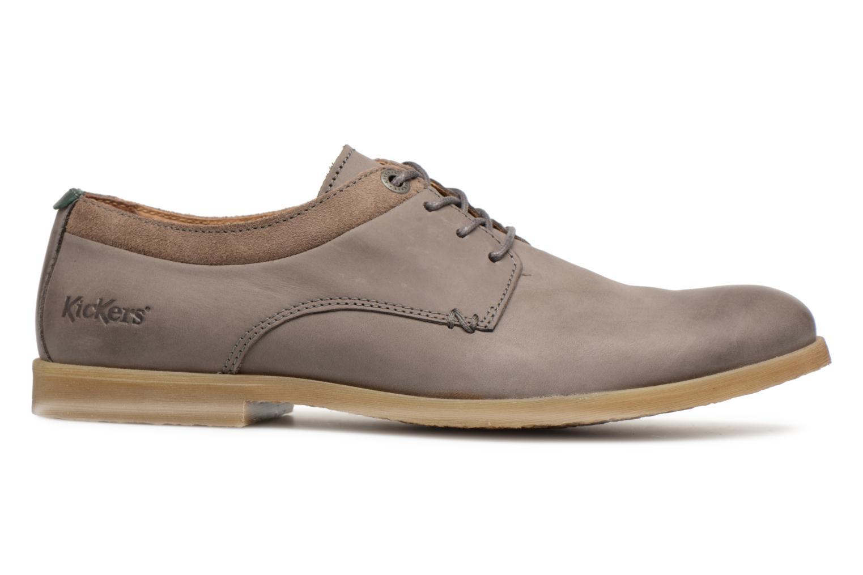 Chaussures à lacets Kickers FLAVESTON Gris vue derrière