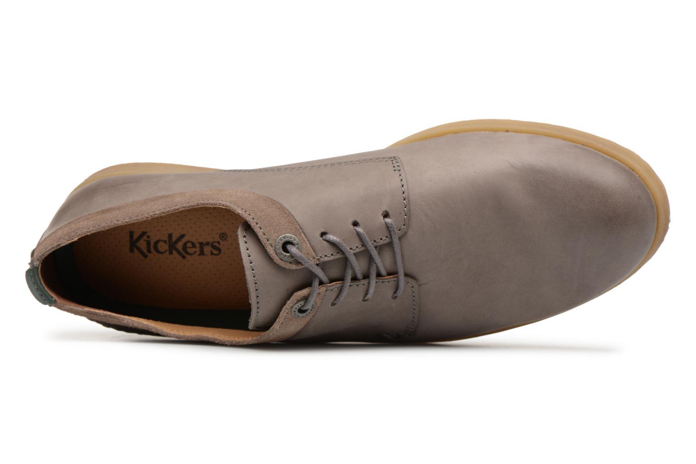 Chaussures à lacets Kickers FLAVESTON Gris vue gauche