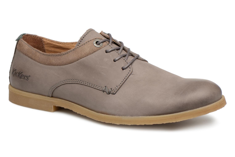 Chaussures à lacets Kickers FLAVESTON Gris vue détail/paire