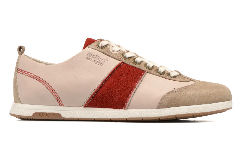 Sneakers Kickers BARBOSSA Beige achterkant