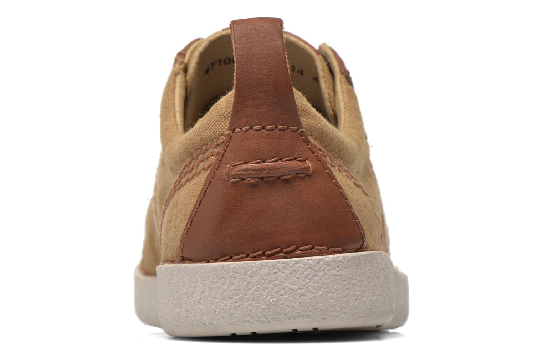 Sneakers Kickers TRIDENT Beige Bild från höger sidan