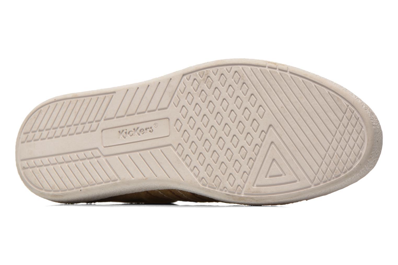 Sneaker Kickers TRIDENT beige ansicht von oben