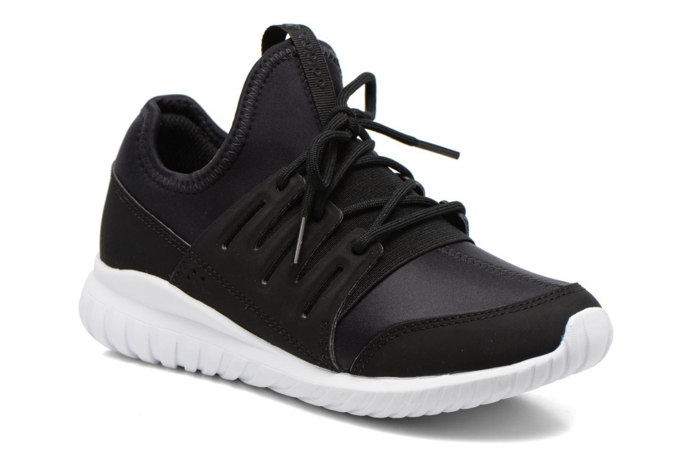 Sneakers Adidas Originals Tubular Radial K Sort detaljeret billede af skoene