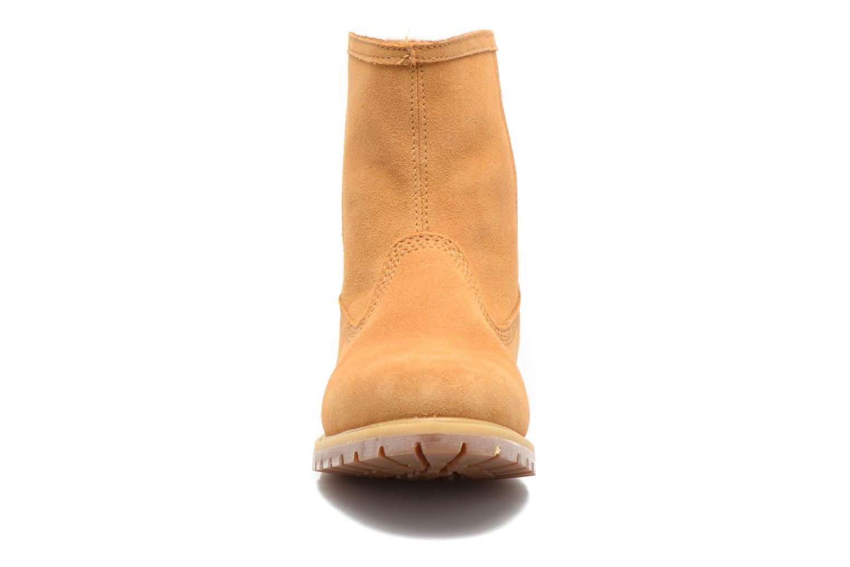 Bottines et boots Timberland Authentics Warm Line Marron vue portées chaussures