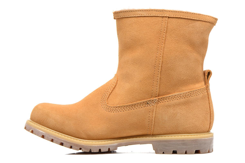 Bottines et boots Timberland Authentics Warm Line Marron vue face