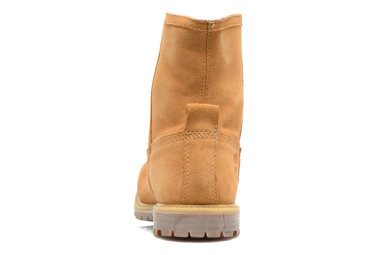 Bottines et boots Timberland Authentics Warm Line Marron vue droite