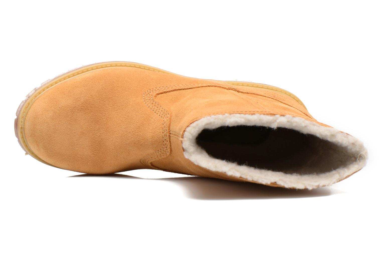 Bottines et boots Timberland Authentics Warm Line Marron vue gauche
