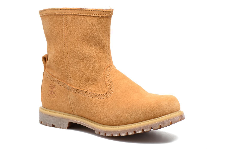 Bottines et boots Timberland Authentics Warm Line Marron vue détail/paire