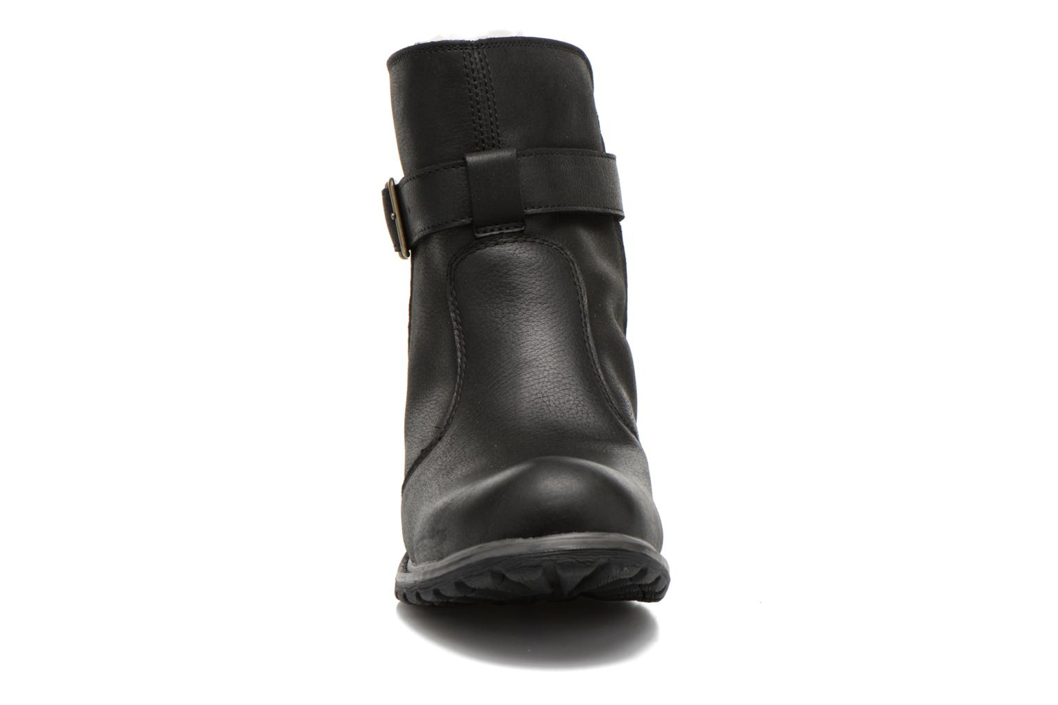 Ankle boots Timberland Stoddard Quilted Warm Black model view