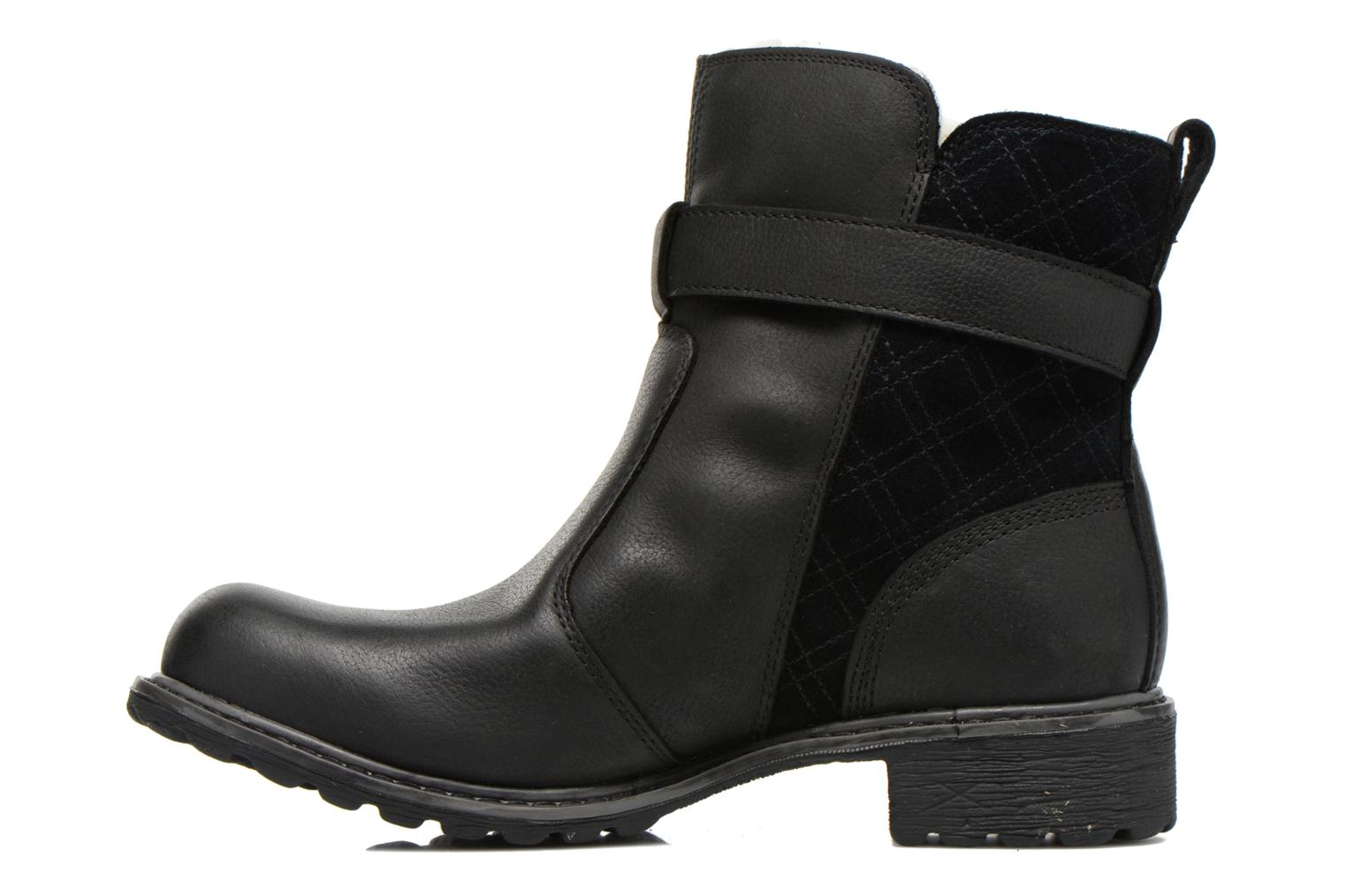 Bottines et boots Timberland Stoddard Quilted Warm Noir vue face
