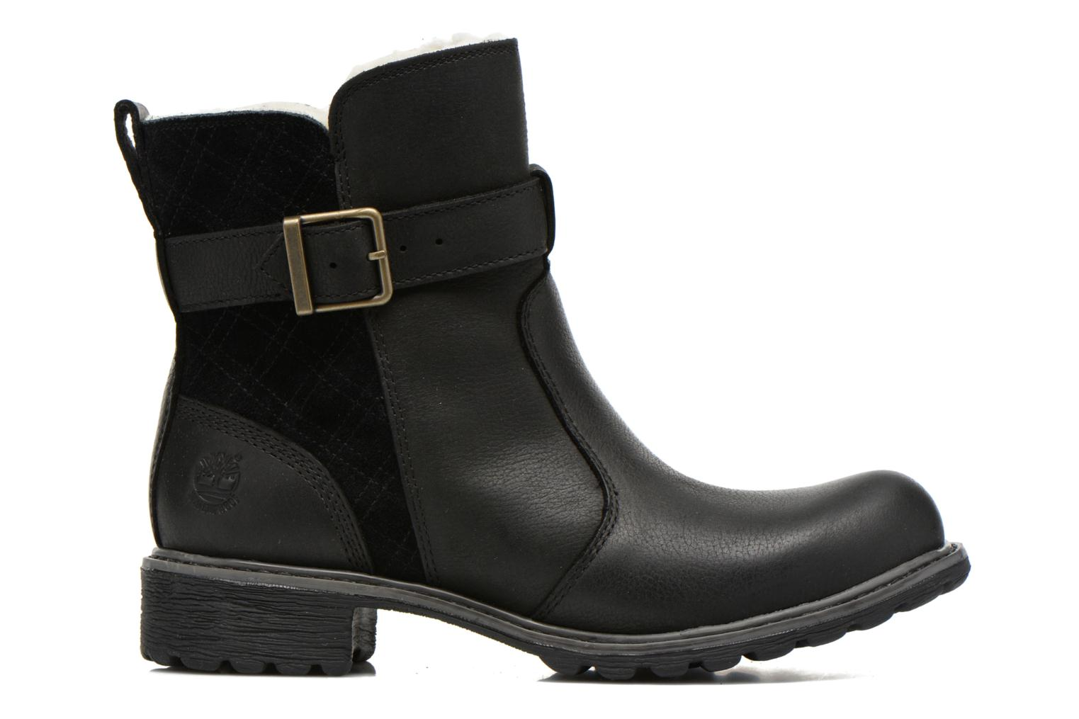 Ankle boots Timberland Stoddard Quilted Warm Black back view