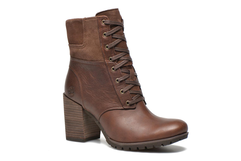Bottines et boots Timberland Swazey Warm Lined Waterproof Marron vue  détail/paire