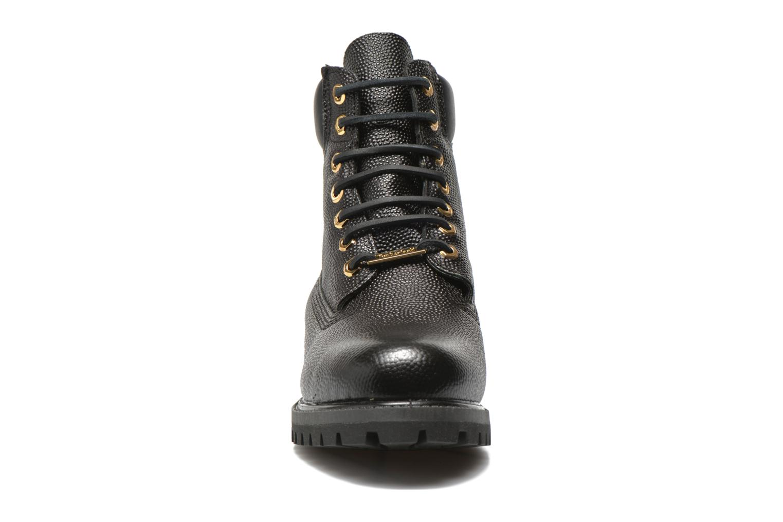 """Bottines et boots Timberland Icon 6"""" Premium Boot Noir vue portées chaussures"""