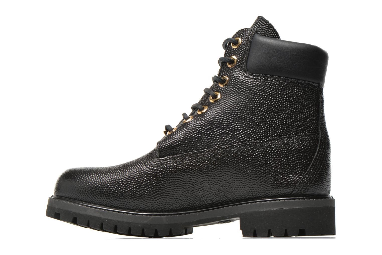 "Bottines et boots Timberland Icon 6"" Premium Boot Noir vue face"