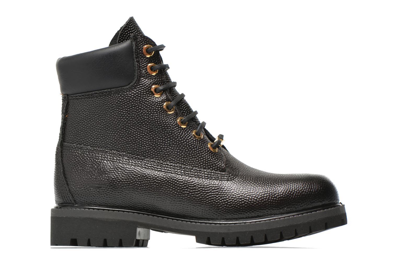"Icon 6"" Premium Boot Black Horween Football Leather"