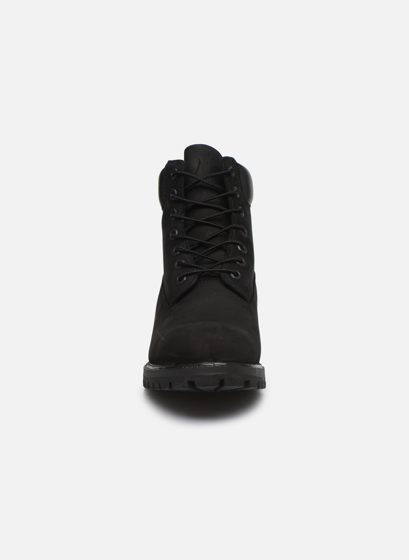 "6"" Premium Boot Black Nubuck"