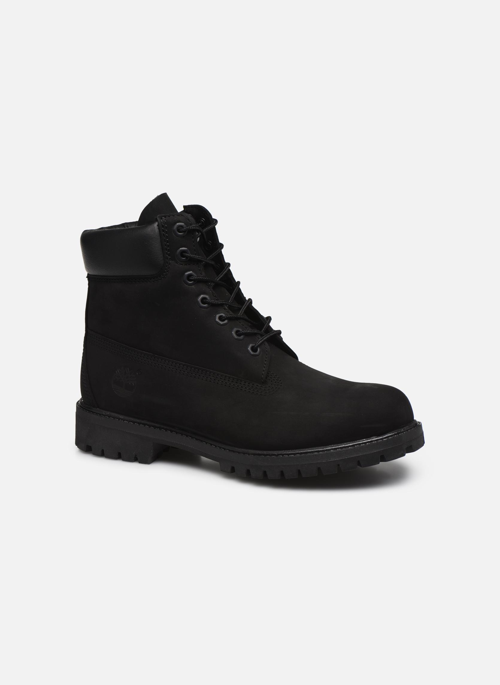 "Botines  Timberland 6"" Premium Boot Negro vista de detalle / par"