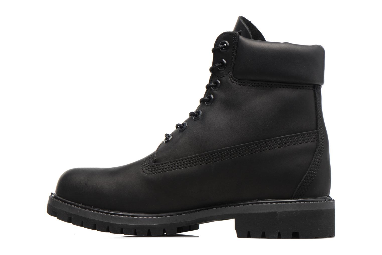 "Bottines et boots Timberland 6"" Premium Boot Noir vue face"
