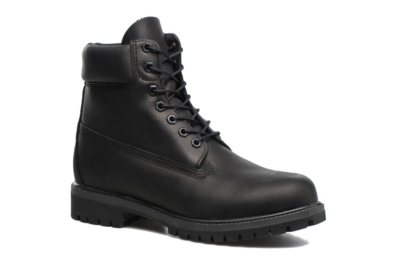 "6"" Premium Boot Black Riptide Galloper"