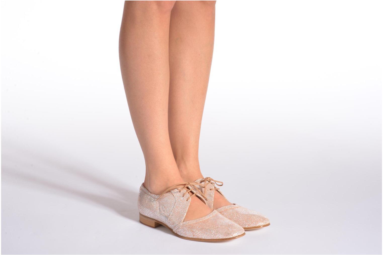 Chaussures à lacets Georgia Rose Parlie Multicolore vue bas / vue portée sac