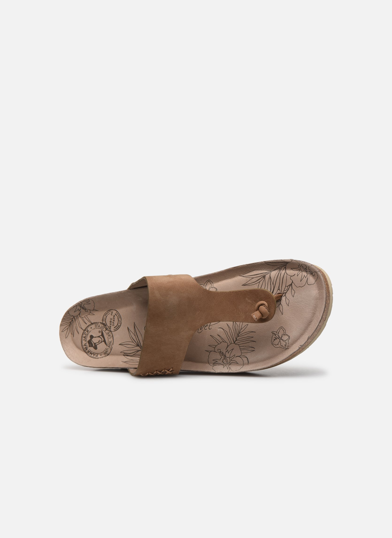 Mules & clogs Panama Jack Quinoa Brown view from the left