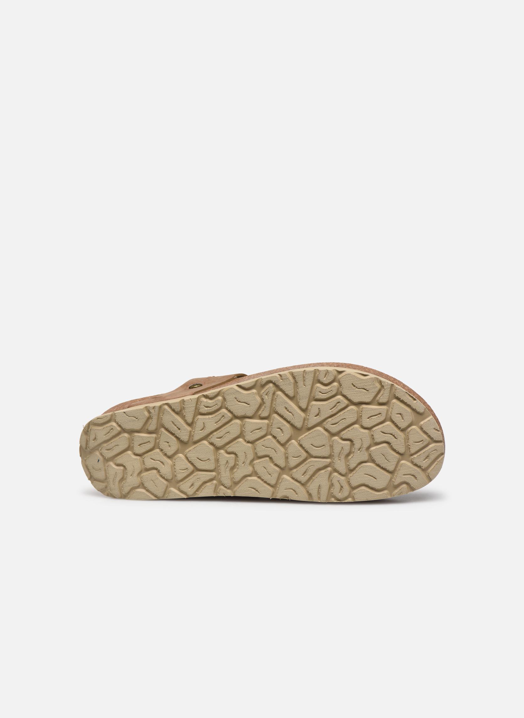 Zoccoli Panama Jack Quinoa Marrone immagine dall'alto
