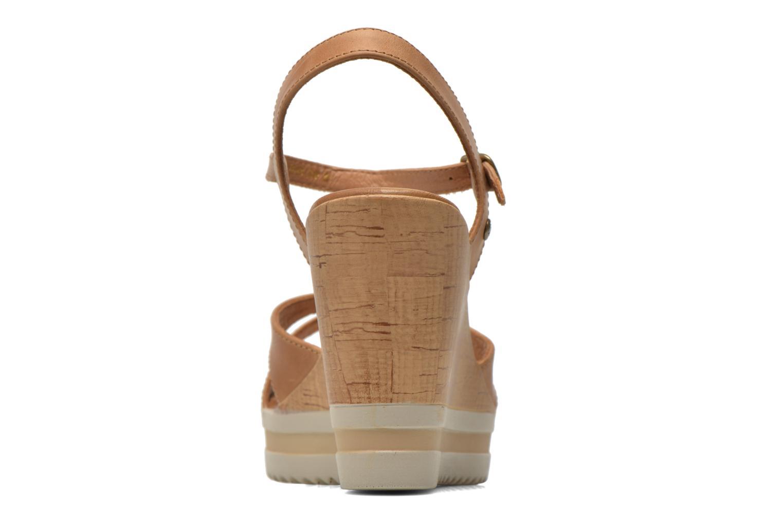 Sandalen Panama Jack Estrella braun ansicht von rechts