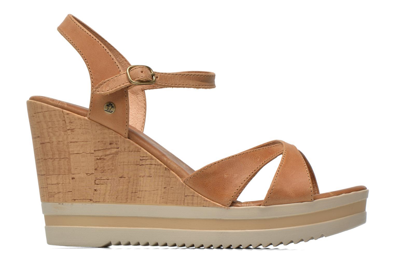 Sandalen Panama Jack Estrella braun ansicht von hinten