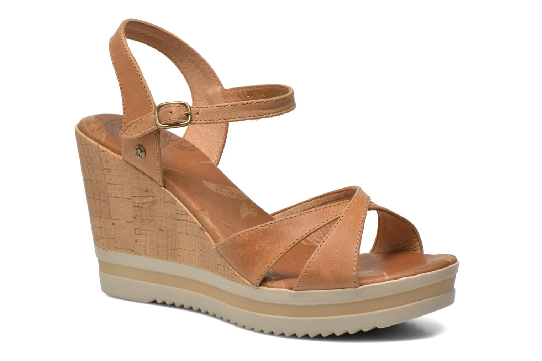 Sandalen Panama Jack Estrella braun detaillierte ansicht/modell
