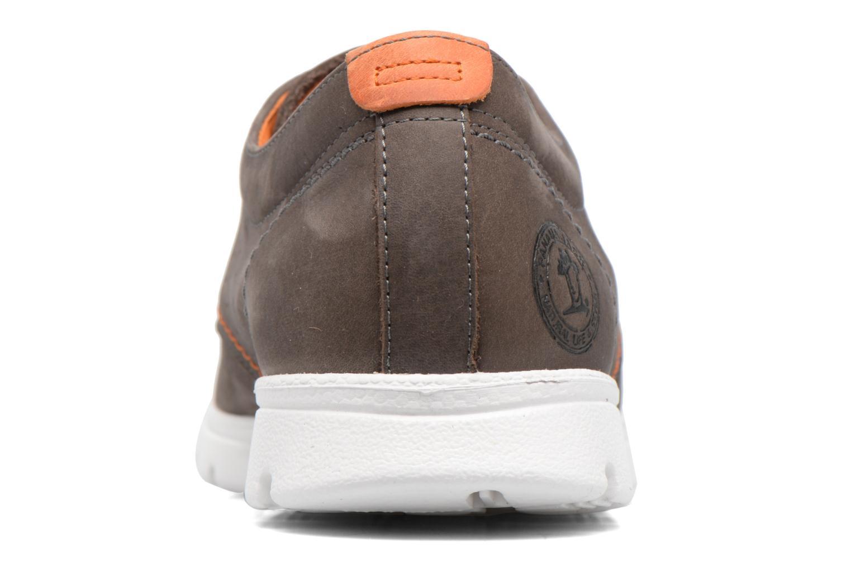 Sneaker Panama Jack Domani braun ansicht von rechts