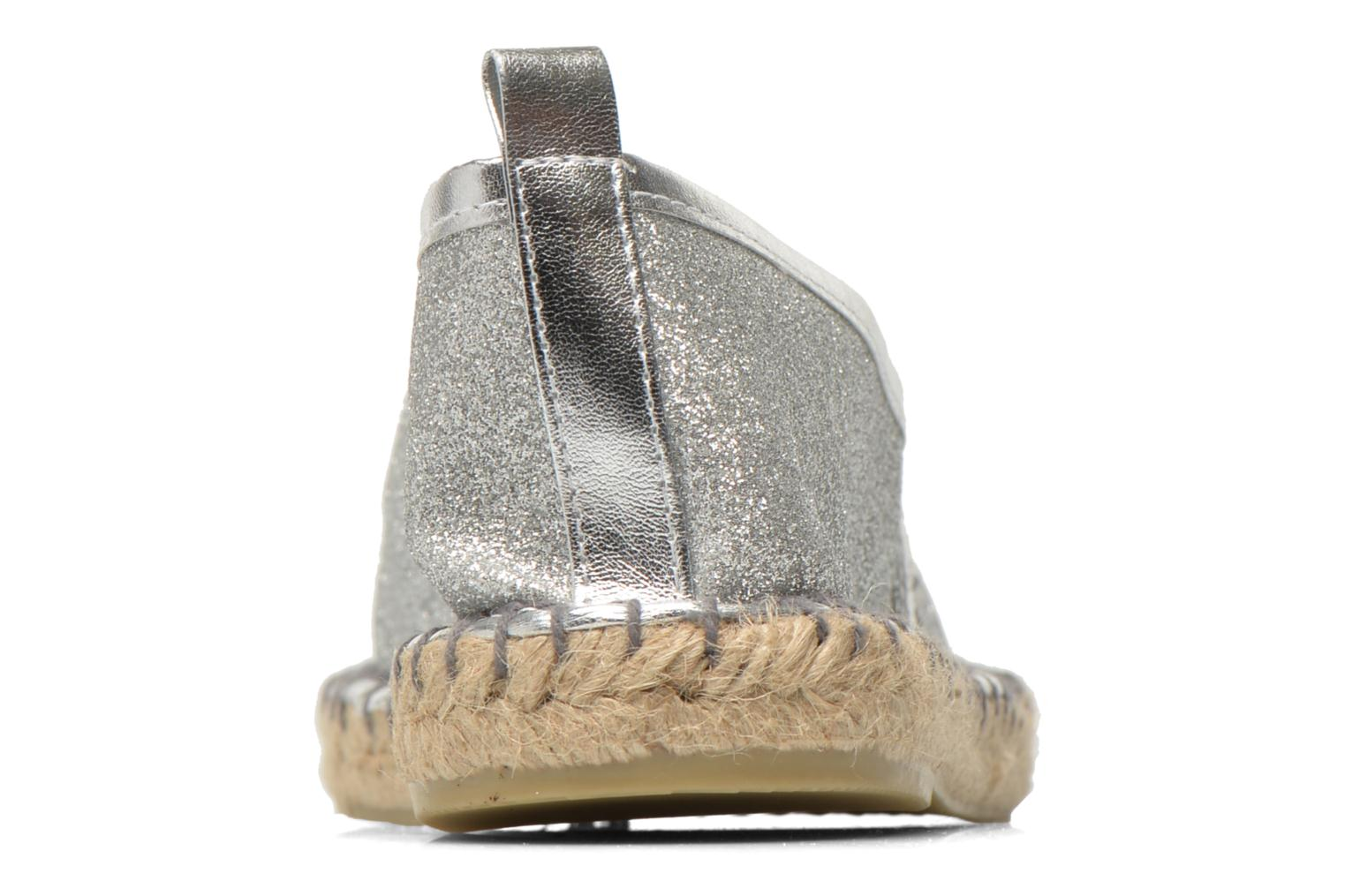 Espadrilles Colors of California Lili Silver view from the right