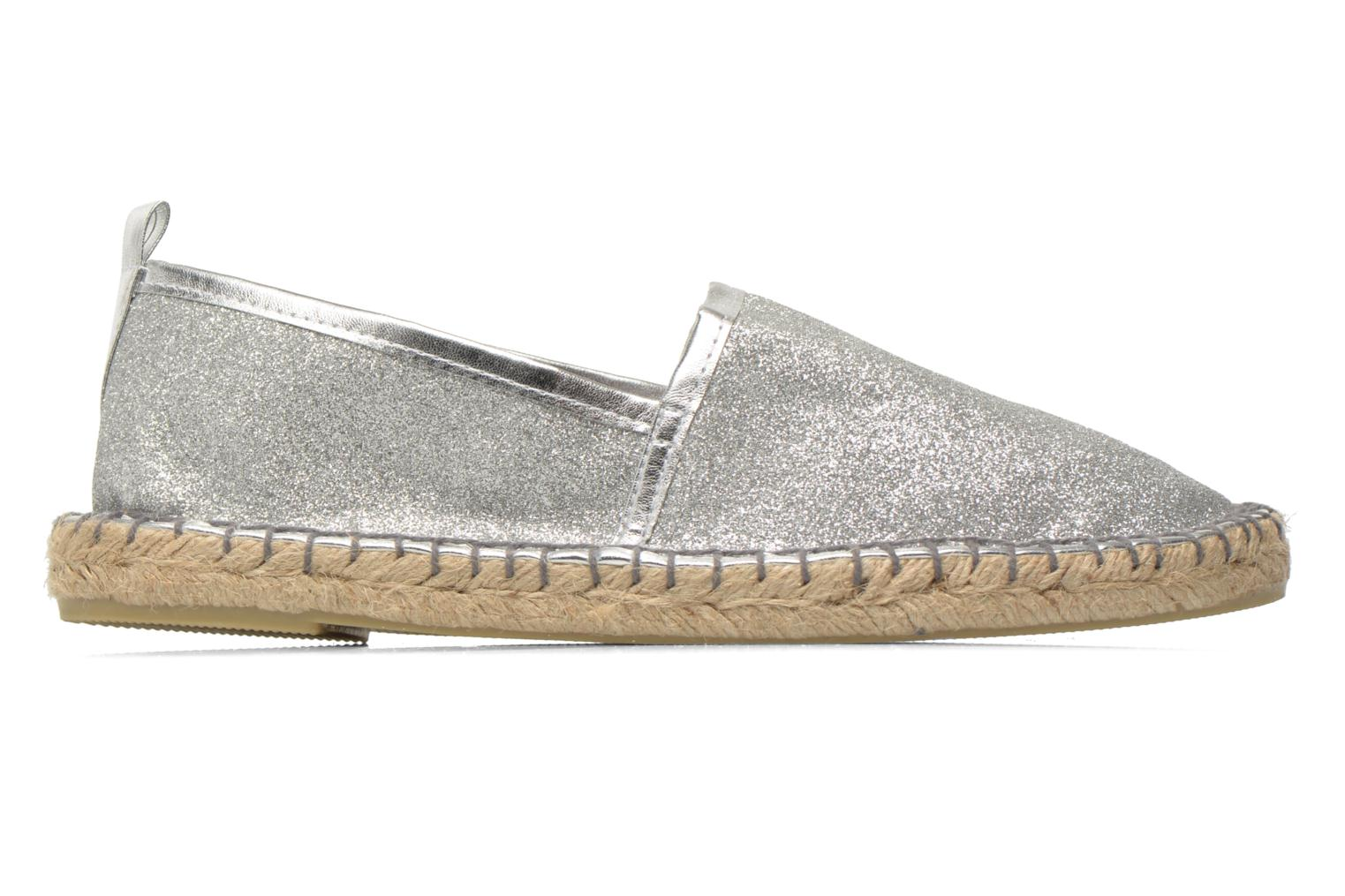 Espadrilles Colors of California Lili Silver back view