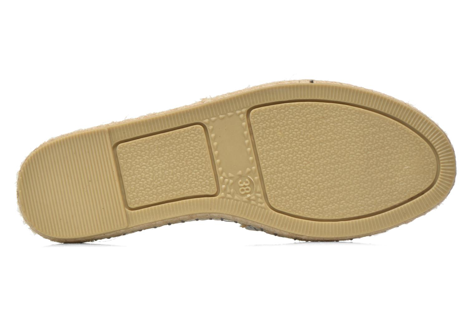 Espadrilles Colors of California Lili Silver view from above