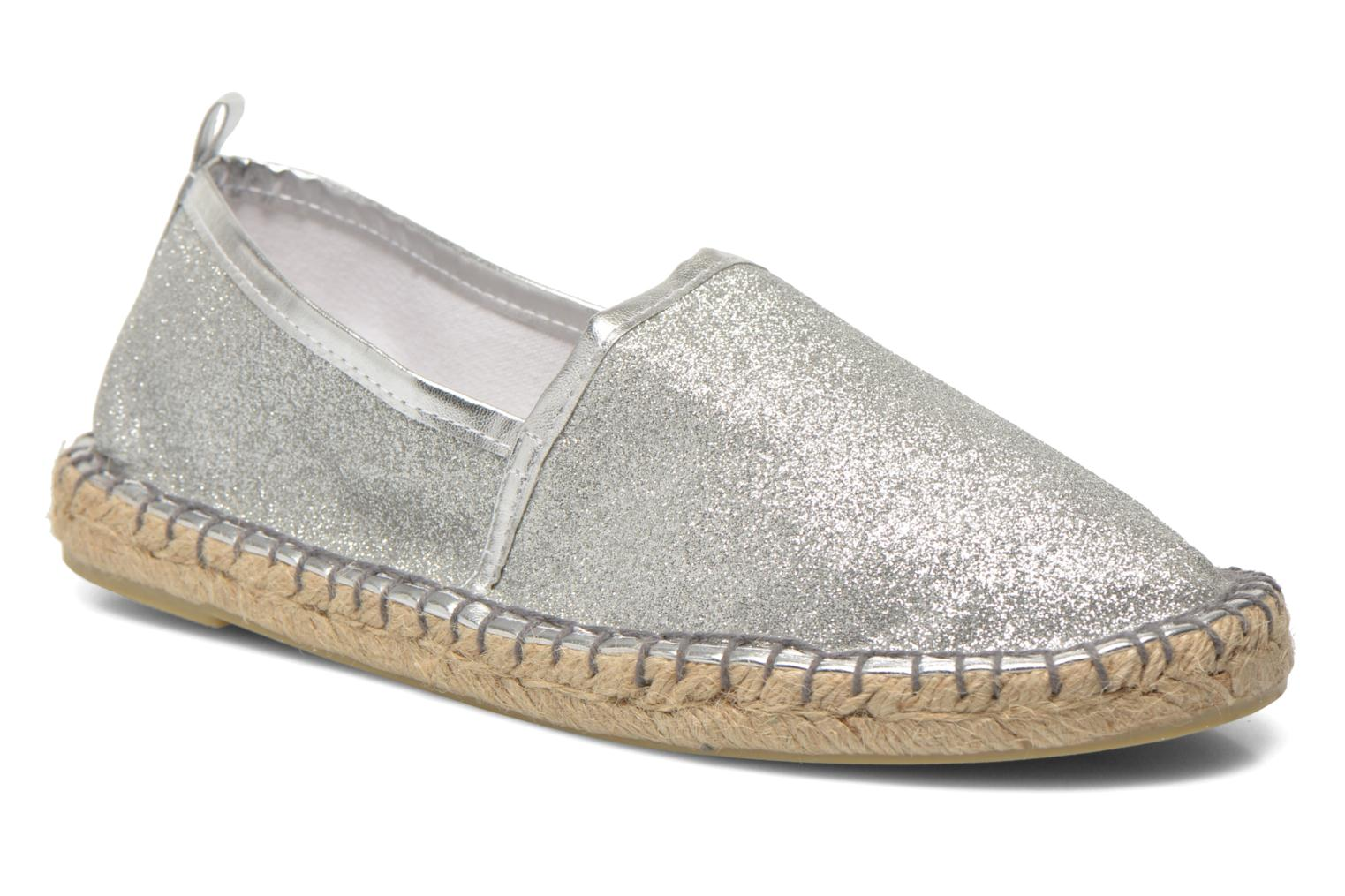 Espadrilles Colors of California Lili Silver detailed view/ Pair view