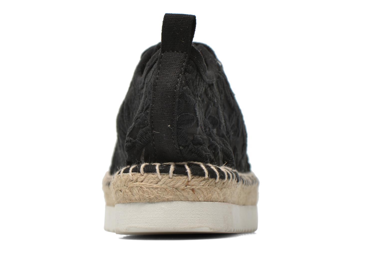 Alpargatas Colors of California Poshpadrille lacet Negro vista lateral derecha