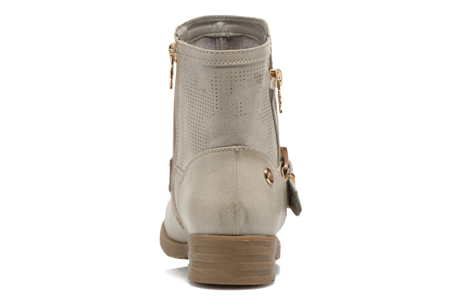 Ankle boots Xti Billie 45812 Grey view from the right