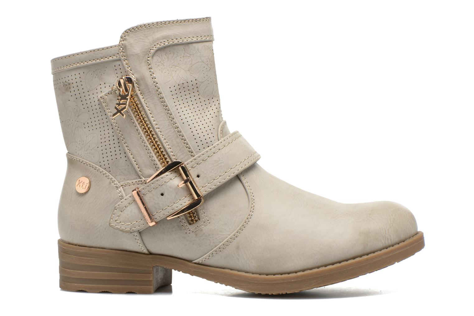 Ankle boots Xti Billie 45812 Grey back view