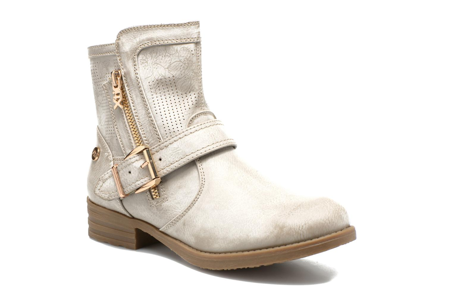 Ankle boots Xti Billie 45812 Grey detailed view/ Pair view