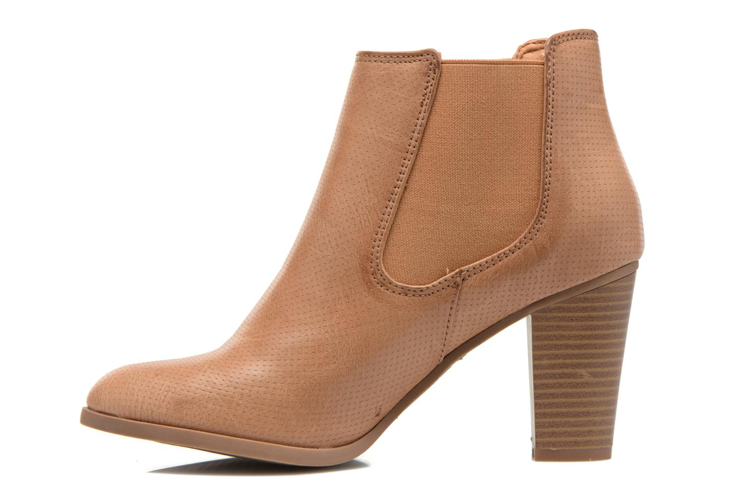 Ankle boots Xti Mila 45011 Brown front view
